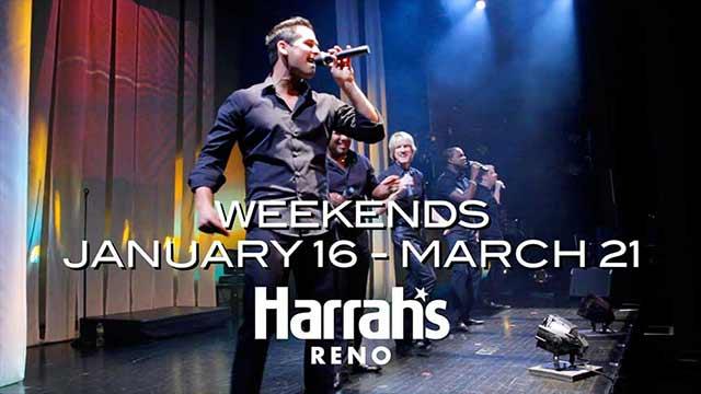 Harrah's: Reno – Rockapella